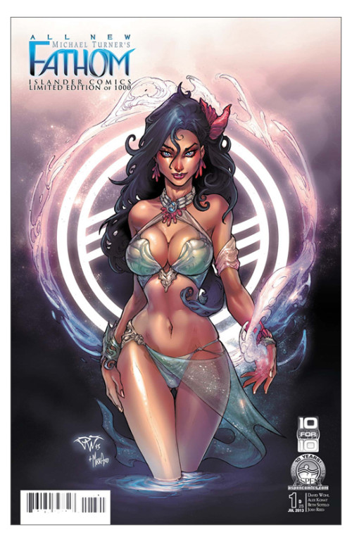 Fathom vol 5 issue 1 cover D by Paolo Pantalena