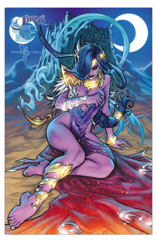 Jirni vol 1 cover G by Paolo Pantalena