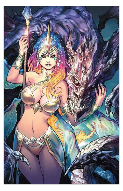 Soulfire vol 5 issue 1 cover G