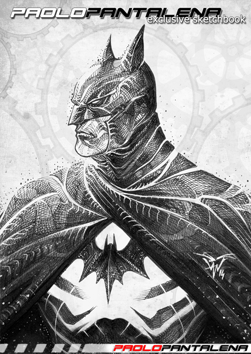 Sketchbook vol 01 - Batman by Paolo Pantalena
