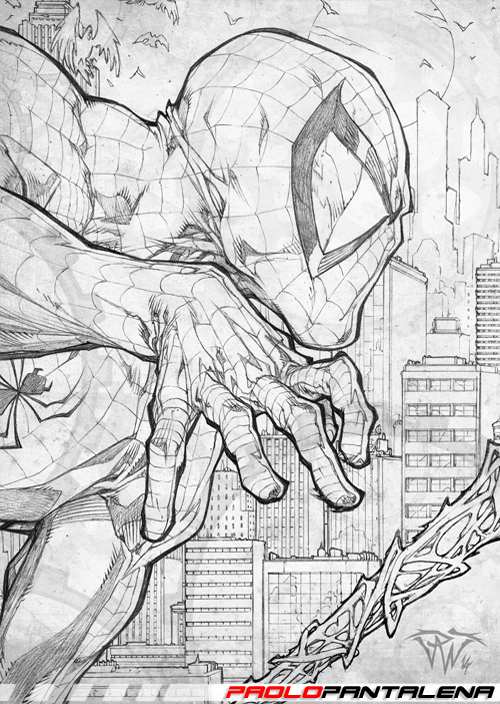 Sketchbook vol 01 - Spider-Man by Paolo Pantalena